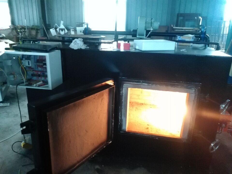 incinerator testing before delivery